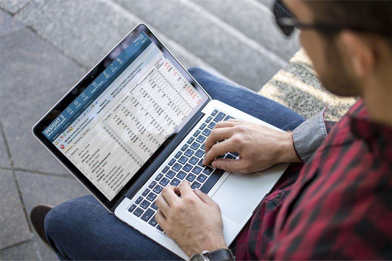 Drivar och aktivitetsbaserat budget och prognos arbete.