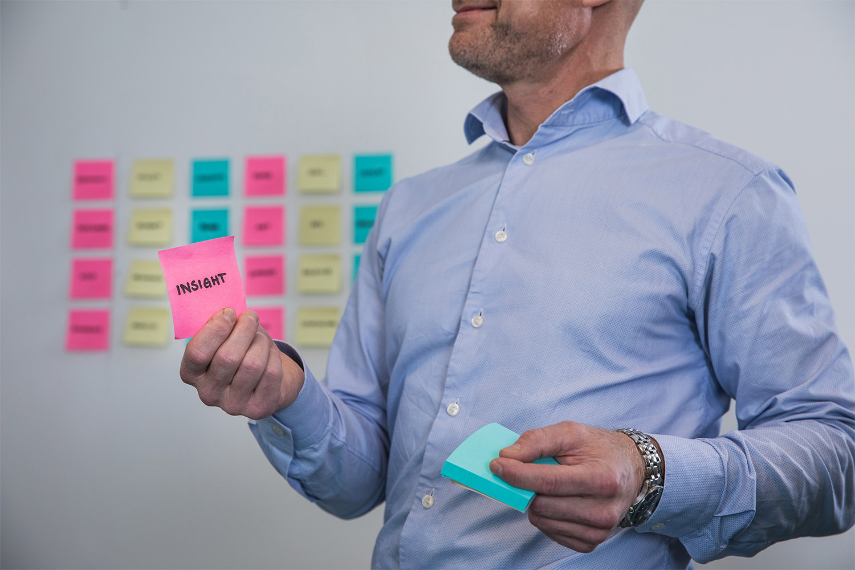 Insera gör en informationsanalys av din verksamhet och tar fram en informationsstrategi